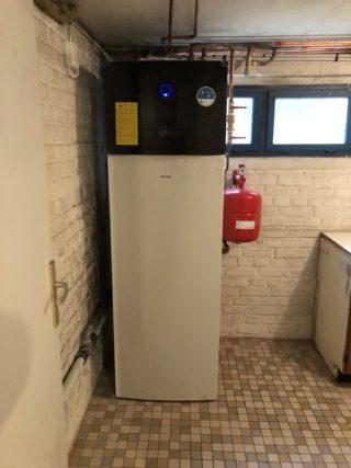 Exemple de réalisation : pose de pompe à chaleur